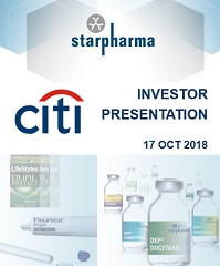 Starpharma Investor Presentation for Citi Conference