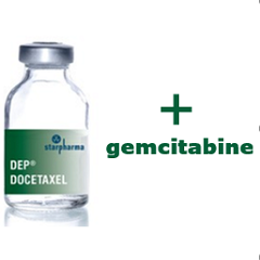 DEP® docetaxel and gemcitabine combination trial commences