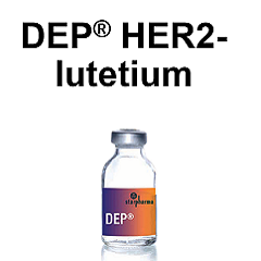 DEP® HER2-lutetium outperforms in human breast cancer model