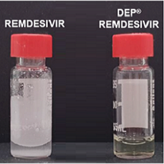SPL creates slow release soluble DEP® remdesivir nanoparticle