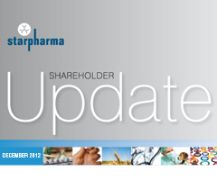 Shareholder Update: December 2012
