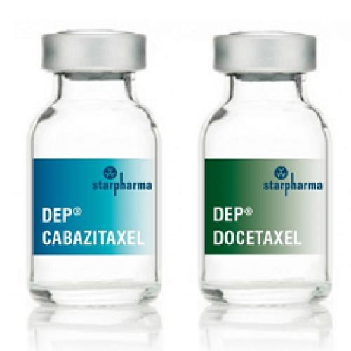 Promising efficacy signals observed in ongoing DEP® trials, including DEP® cabazitaxel escalation phase