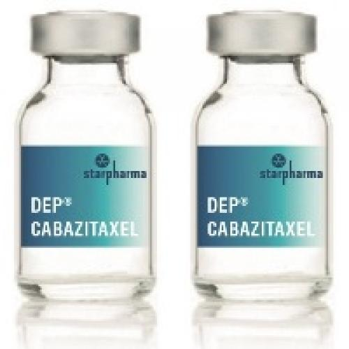DEP® cabazitaxel progresses to phase 2 on positive results